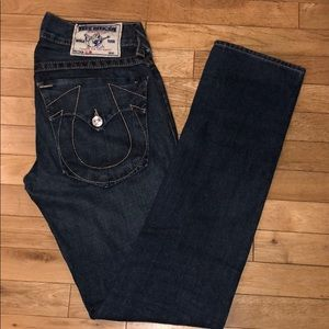 True Religion slim jean pants bottoms